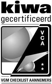 JB Slooptechniek VCA** gecertificeerd