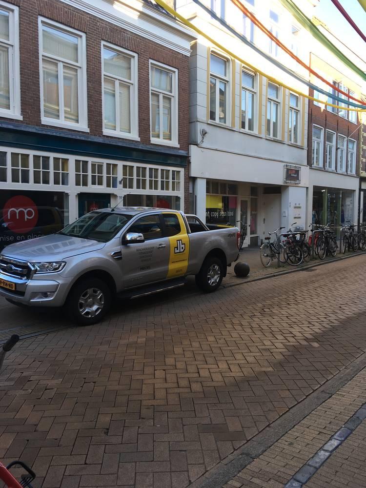 JB Slooptechniek binnenstad Groningen