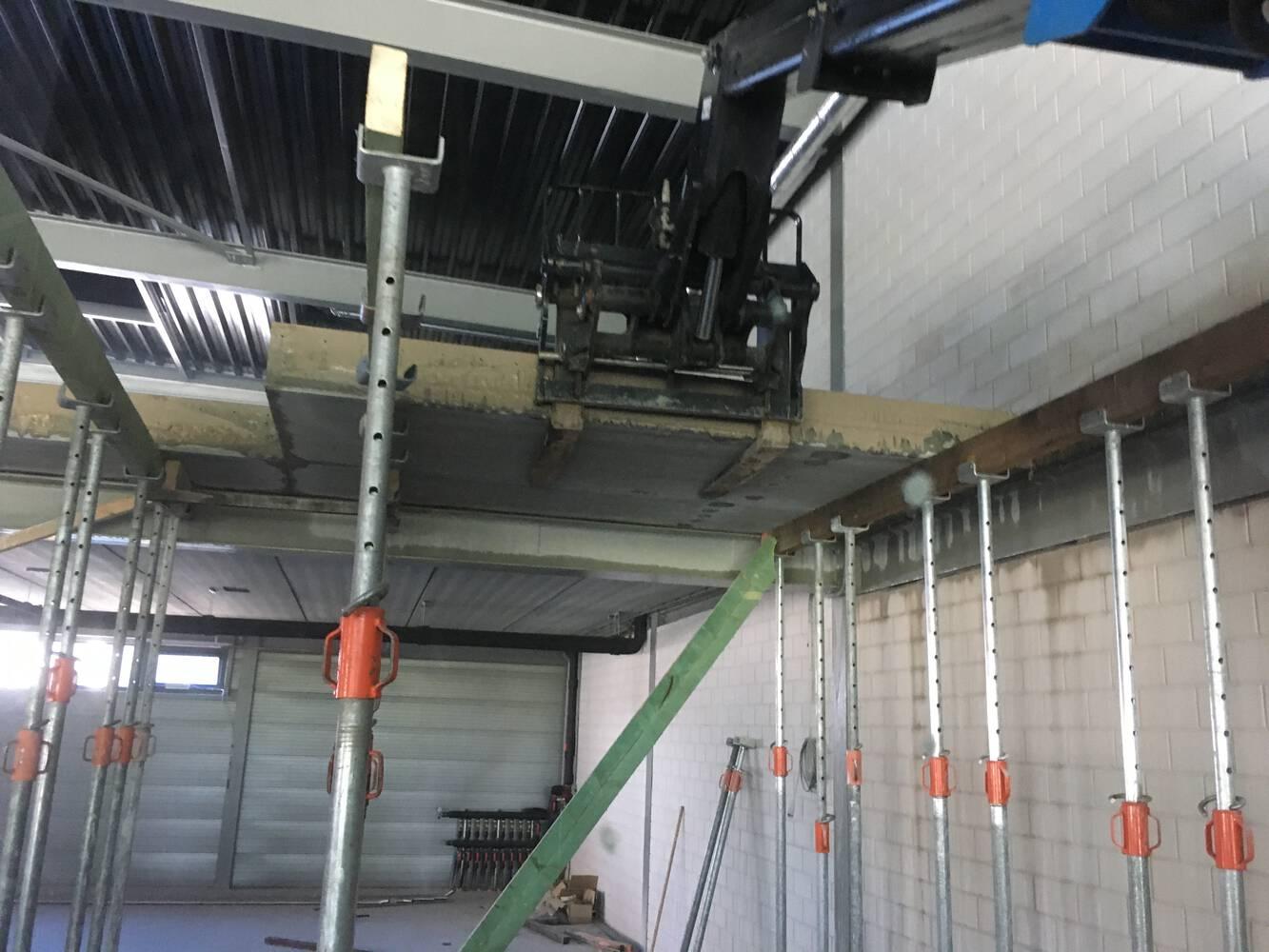 Demontage betonvloer JB Slooptechniek